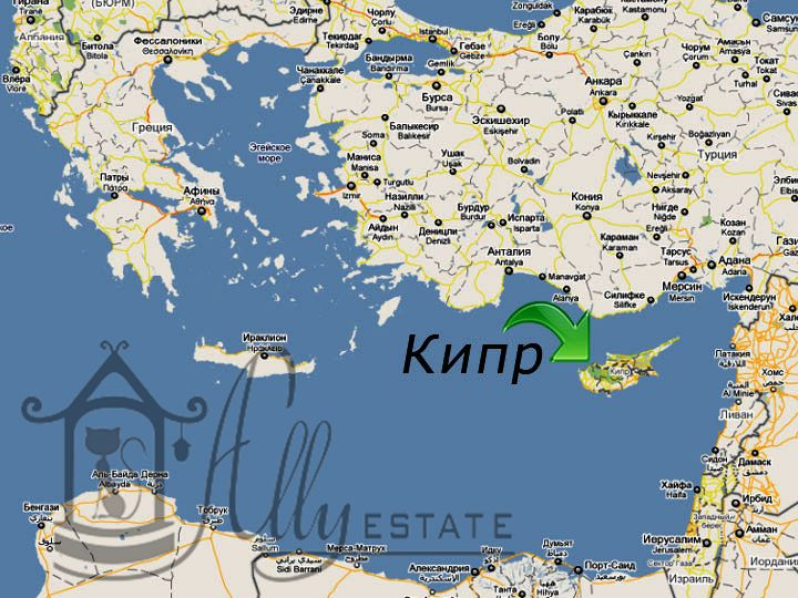 Кипр где он находиться