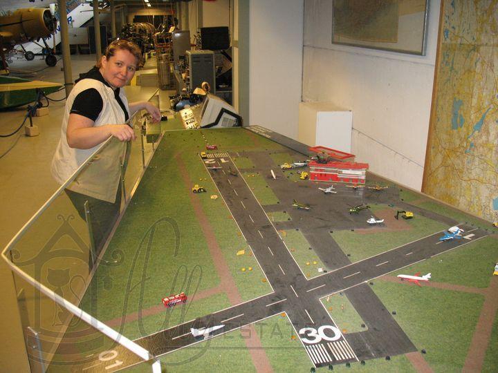 Аэропорт макет своими руками 74