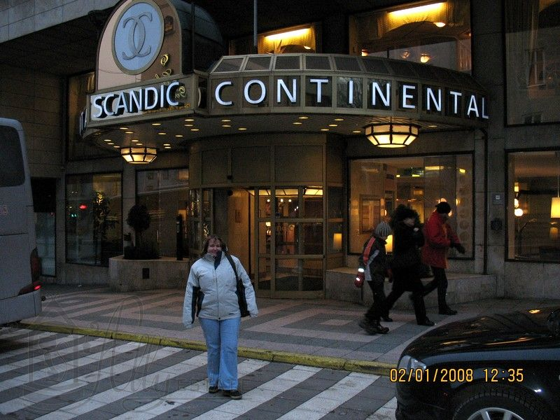 Отель Scandic Continental в Стокгольме.