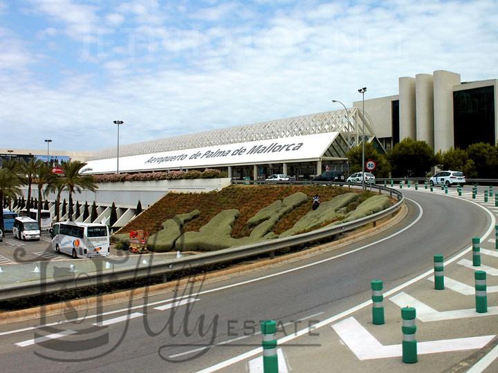 Схема аэропорта пальмы